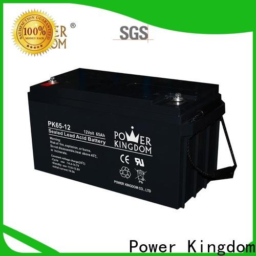 Power Kingdom no leakage design charging agm batteries with solar panels order now Power tools
