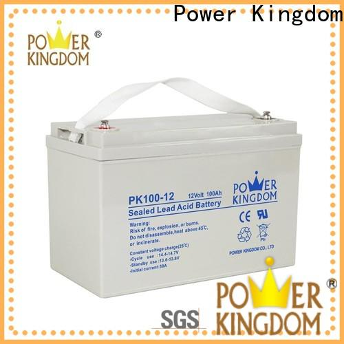 Power Kingdom High-quality high capacity agm battery factory Power tools