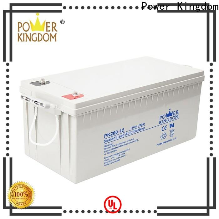 Power Kingdom exide agm battery customization
