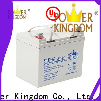 Power Kingdom Wholesale gel acid battery factory