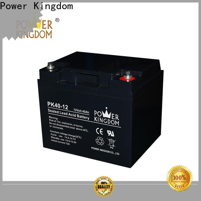 Power Kingdom Wholesale 12 volt sealed agm battery Suppliers