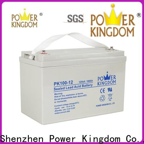 Power Kingdom gel cell batteries for sale with good price