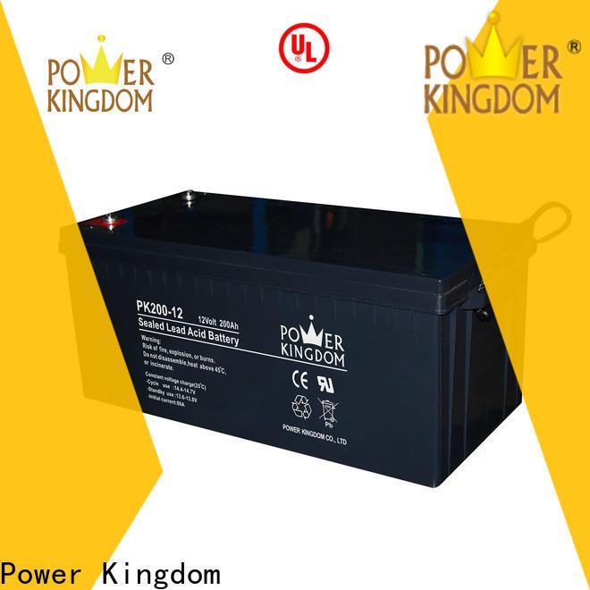 Power Kingdom Top deep cycle battery maintenance customization Automatic door system
