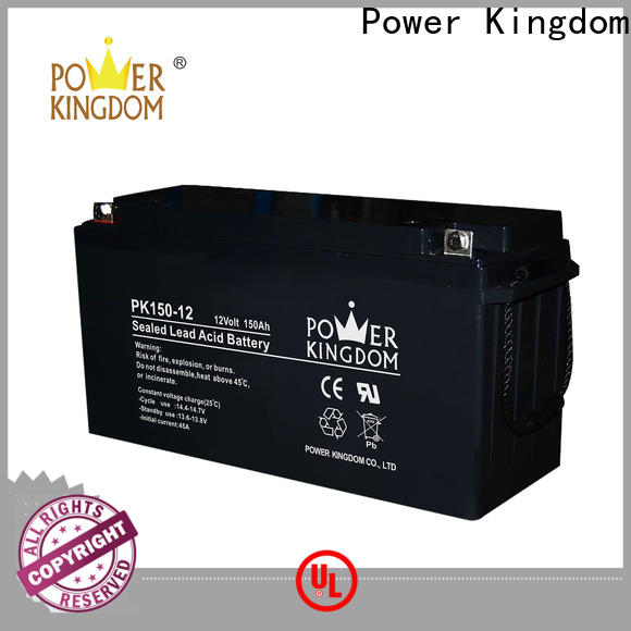 Power Kingdom Best agm vrla batteries from China solar and wind power system