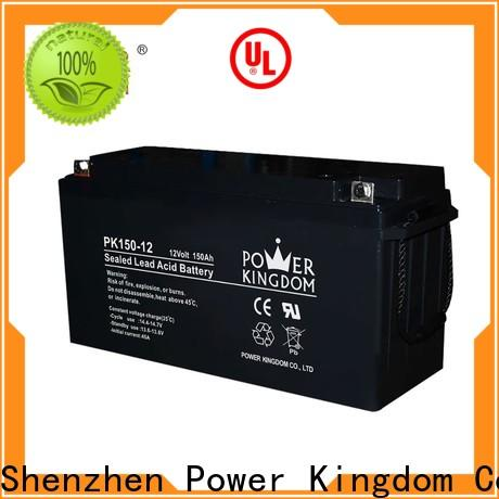 New sealed valve regulated battery factory price solar and wind power system