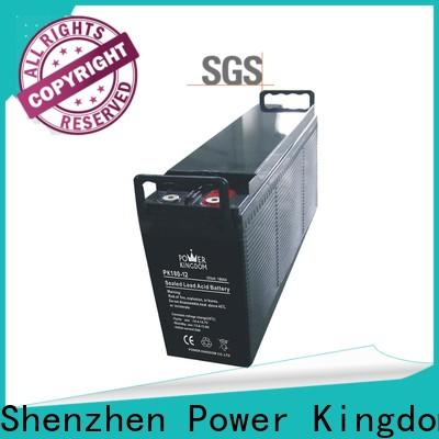 Power Kingdom advanced plate casters h7 agm battery factory price solar and wind power system