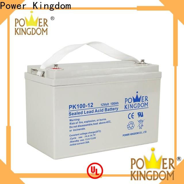 Power Kingdom Top deep cycle battery ratings factory Automatic door system