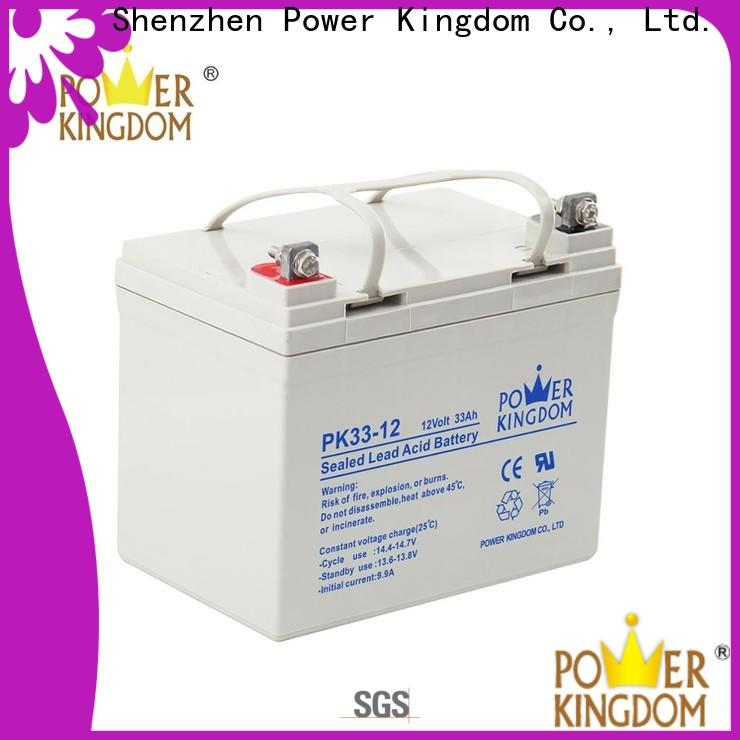 Power Kingdom Latest gel battery technology factory price