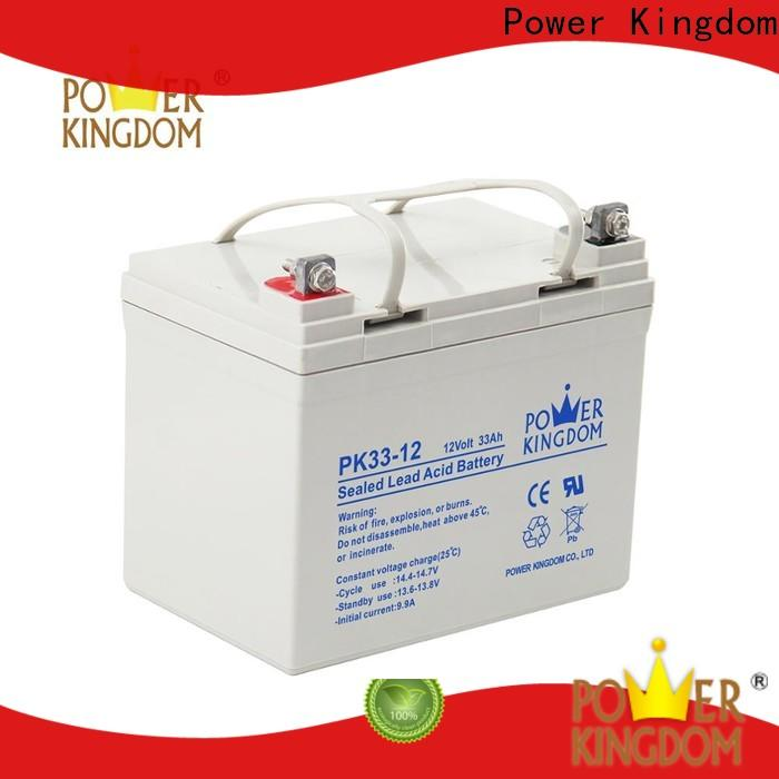 Power Kingdom gel cell marine battery order now