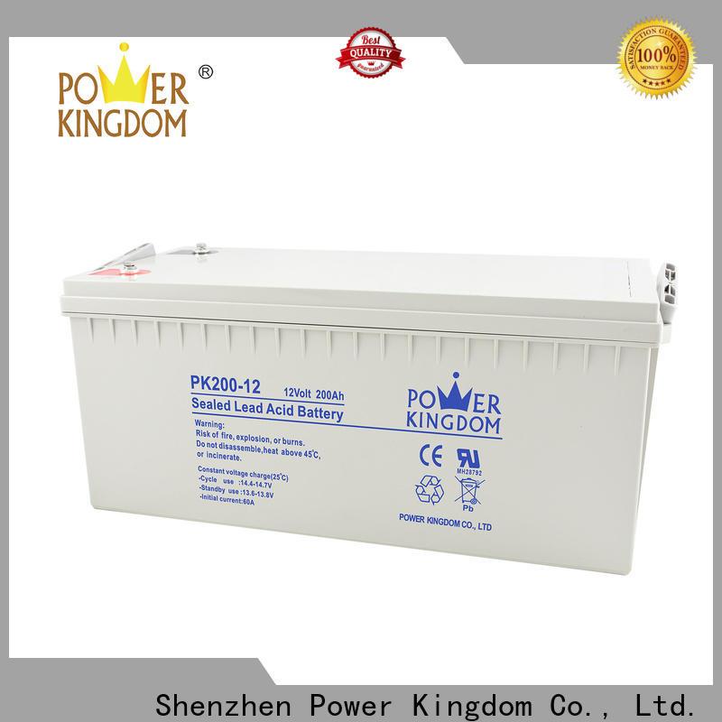 Power Kingdom 110ah gel battery Suppliers Power tools