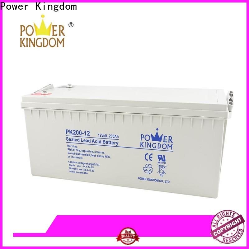 Power Kingdom Custom glass batteries Suppliers solar and wind power system