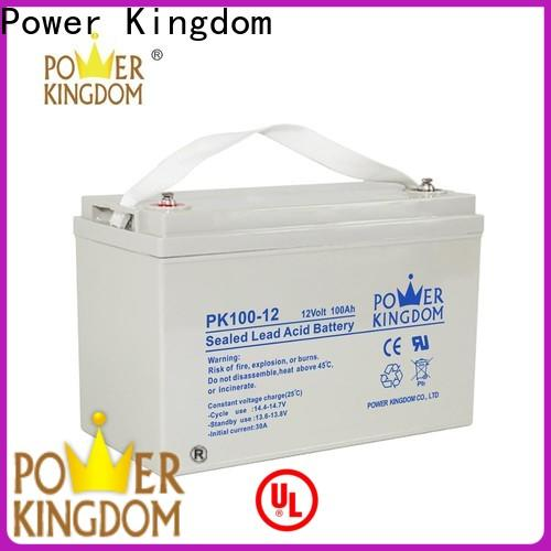 Power Kingdom mechanical operation agm car battery for sale for business Automatic door system