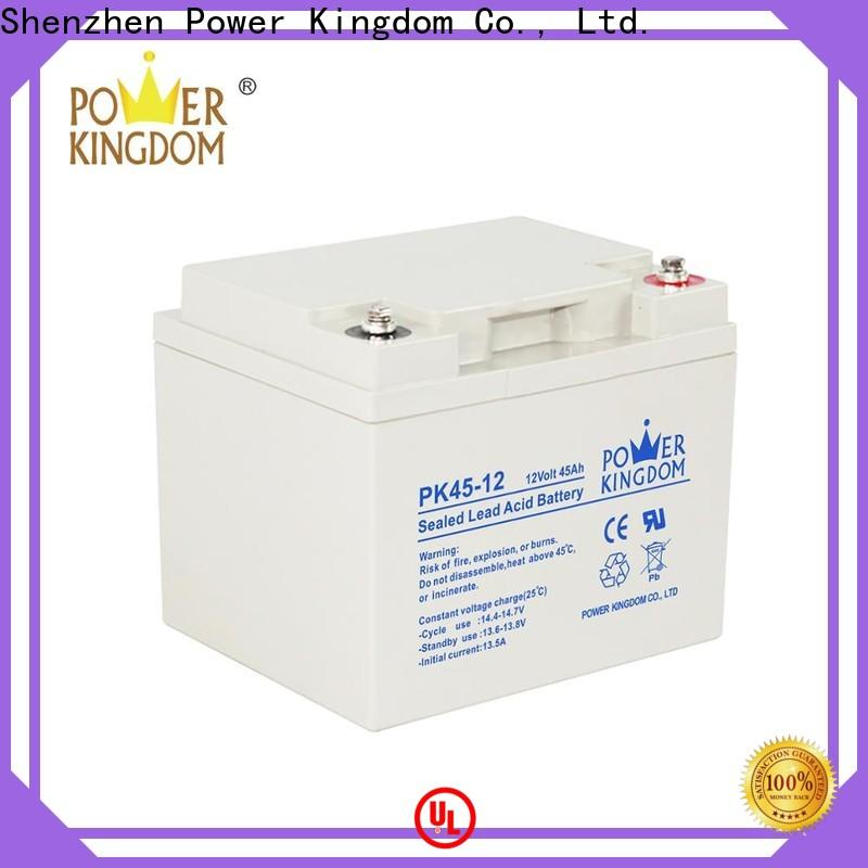 Power Kingdom Latest tubular gel battery technology for business Power tools