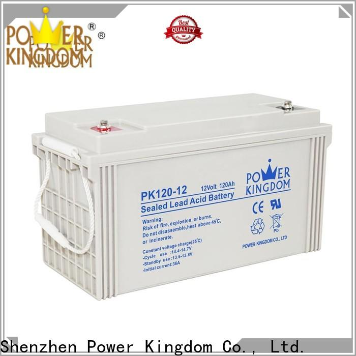 Power Kingdom Best vrla battery specifications Supply solar and wind power system