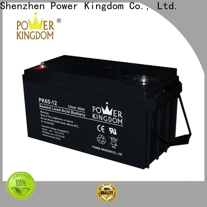 Power Kingdom 6v gel motorcycle battery factory price Automatic door system