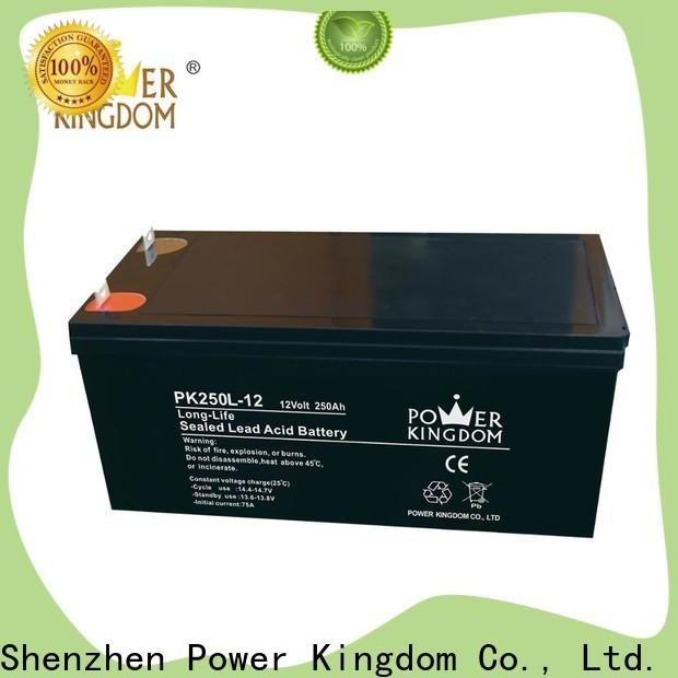 Power Kingdom gel cell battery life expectancy for business