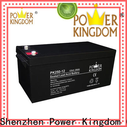Power Kingdom mechanical operation deep cycle battery life factory