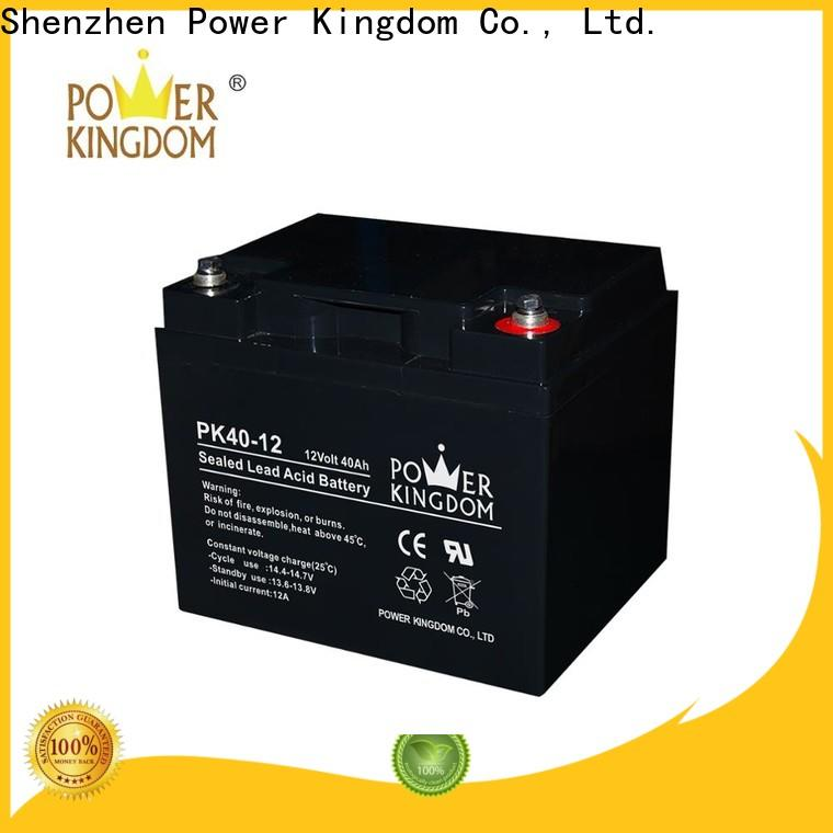Power Kingdom best motorcycle gel battery factory price Automatic door system