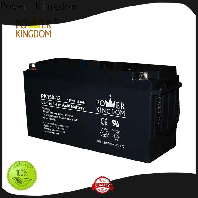 Power Kingdom no leakage design gel car battery prices with good price