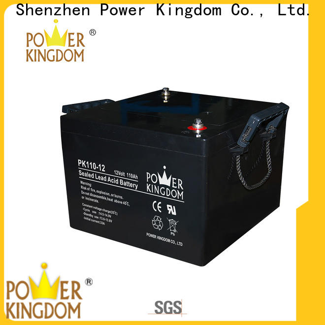 Power Kingdom 6 volt gel cell company solar and wind power system