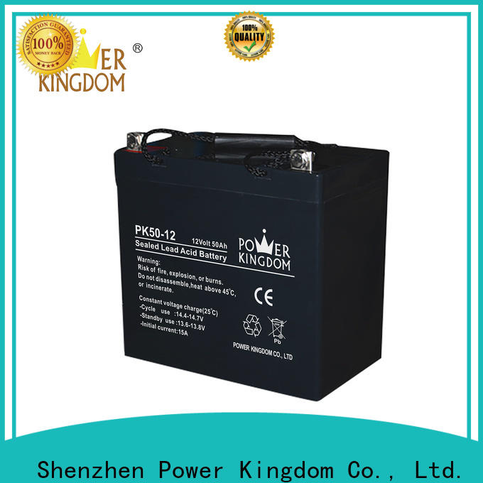 Power Kingdom advanced plate casters vrla agm battery price customization solar and wind power system