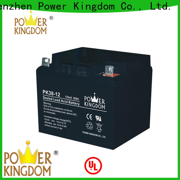 Power Kingdom Custom mf superior gel battery factory price solar and wind power system