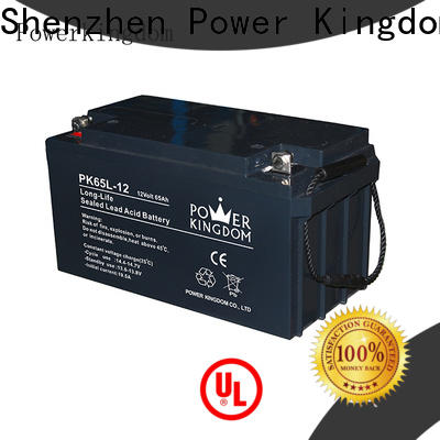 Power Kingdom Top 12 volt gel cell marine battery from China solar and wind power system