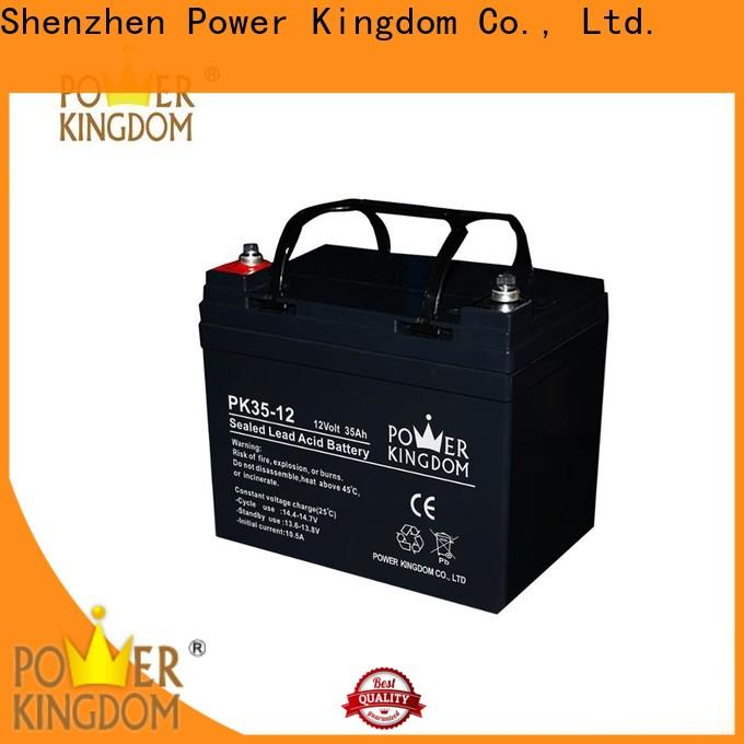 Power Kingdom glass mat batteries manufacturers factory price Automatic door system