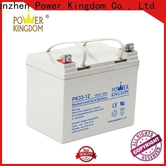 Power Kingdom pwc gel battery from China Automatic door system