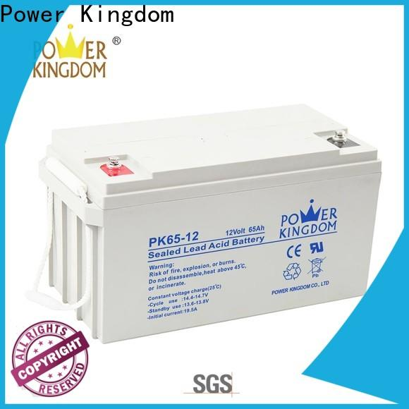 Power Kingdom Custom 12v gel cell marine battery customization
