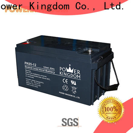 Power Kingdom Top deep cycle battery manufacturers factory price solar and wind power system