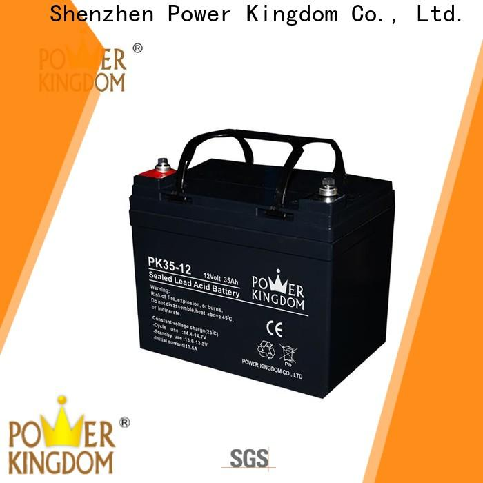 Power Kingdom Latest valve regulated gel battery free quote solar and wind power system
