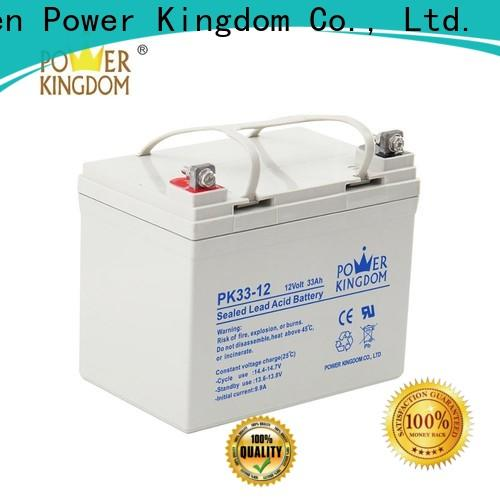 Power Kingdom no leakage design flooded lead acid battery Suppliers