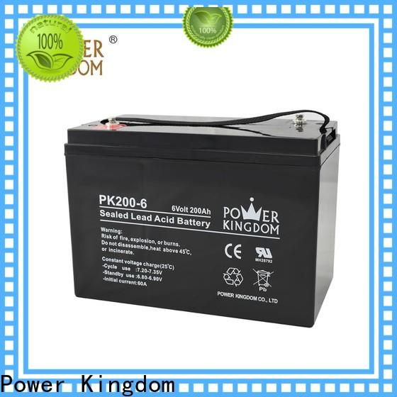 Power Kingdom New harley gel battery for business solar and wind power system