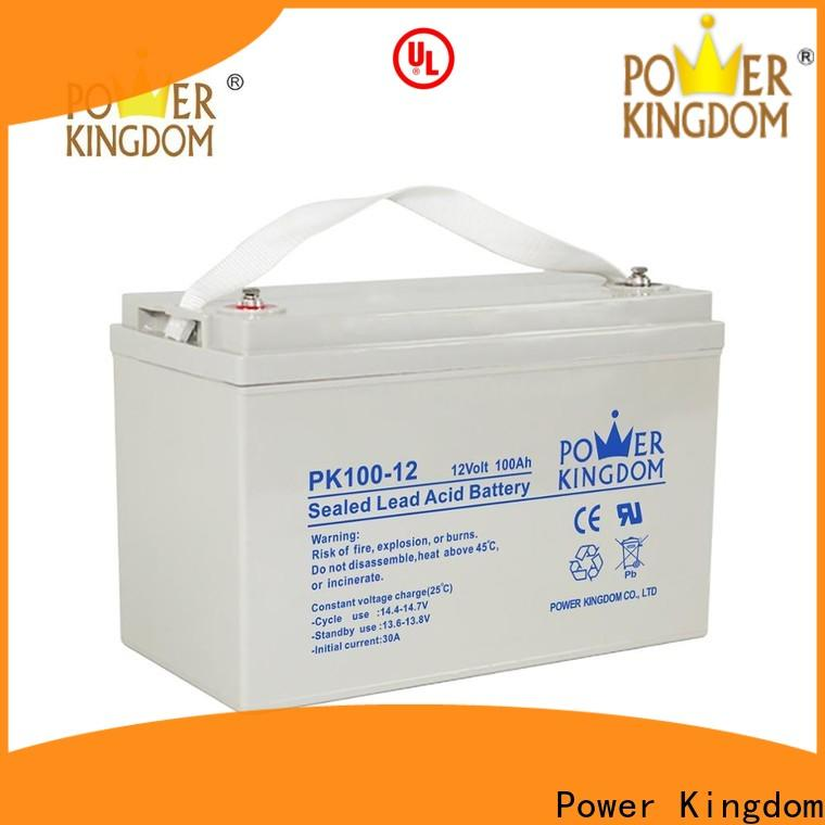 New trojan agm batteries factory price solar and wind power system