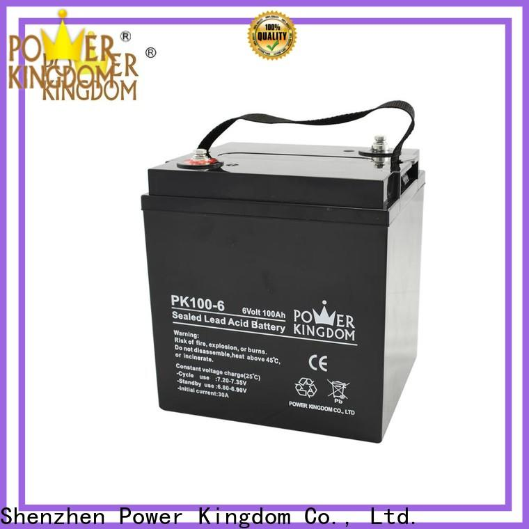 Power Kingdom mechanical operation gel battery charging voltage factory solar and wind power system