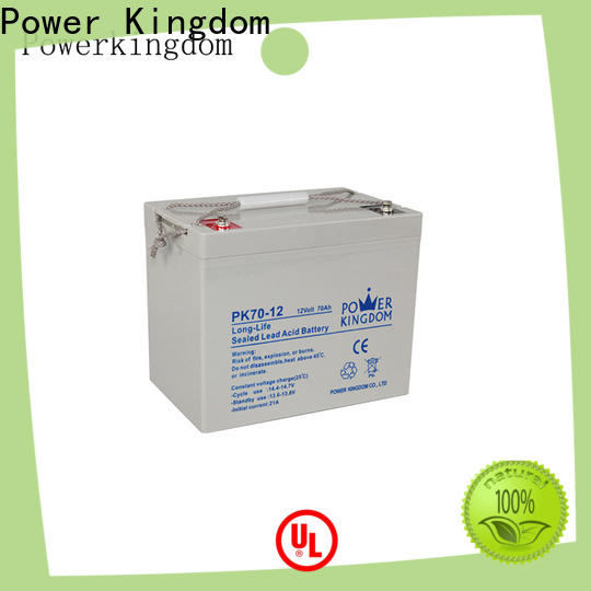 Power Kingdom extreme deep cycle battery Supply solar and wind power system