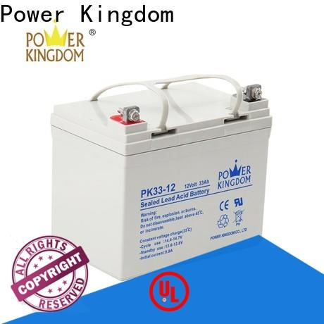 Power Kingdom no leakage design agm deep cycle batteries for sale inquire now solar and wind power system