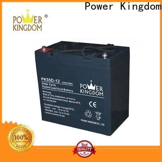 Power Kingdom 100ah gel battery Supply solar and wind power system