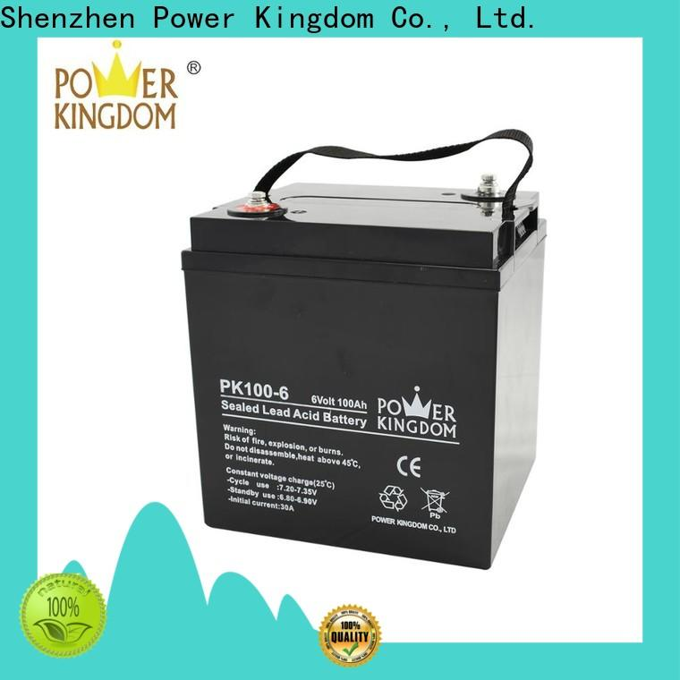 Power Kingdom New gel rv battery manufacturers Automatic door system