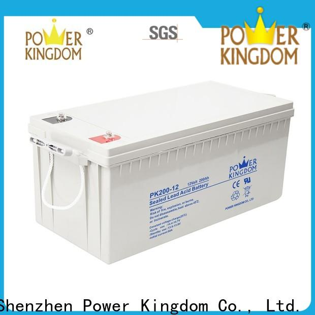 Top equalizing agm batteries directly sale Automatic door system