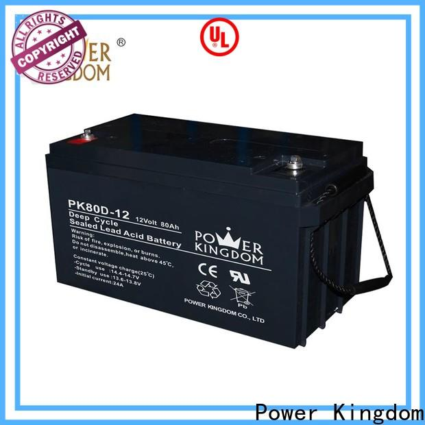 Power Kingdom gel car battery prices Supply