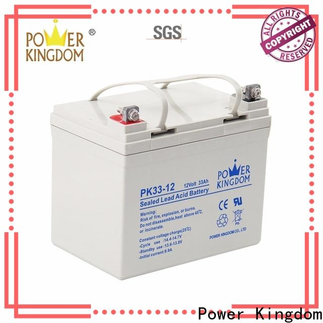 Power Kingdom 12 volt sealed agm battery company