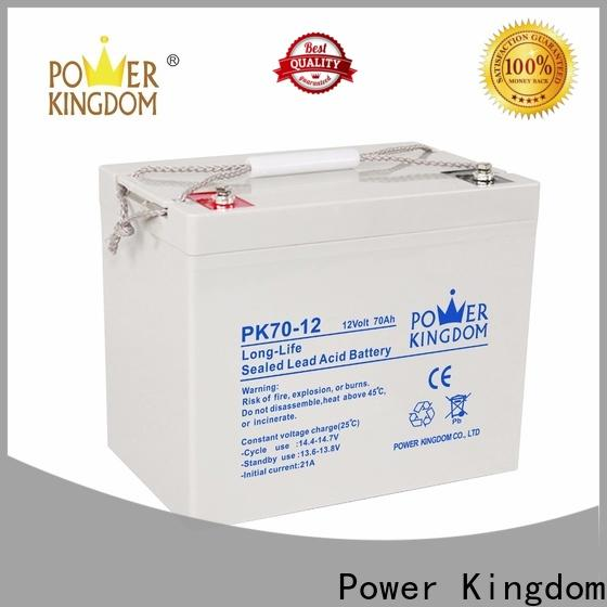 Power Kingdom advanced plate casters battery 12v agm manufacturers solar and wind power system