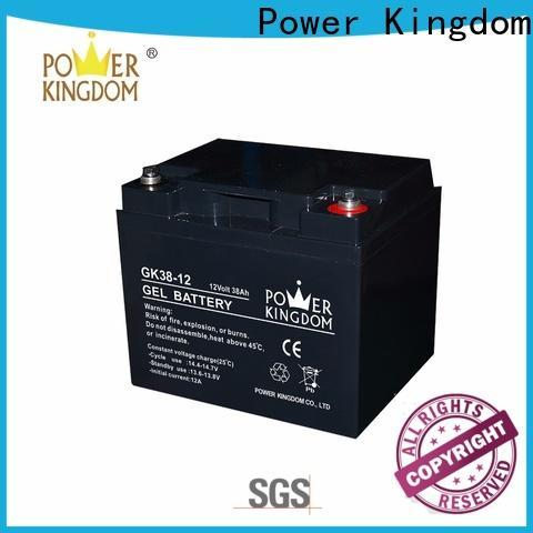 Power Kingdom interstate gel battery factory