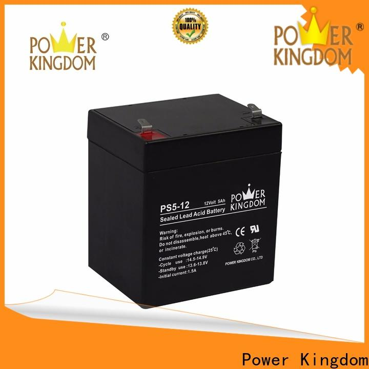 Power Kingdom deep cycle gel battery solar factory price