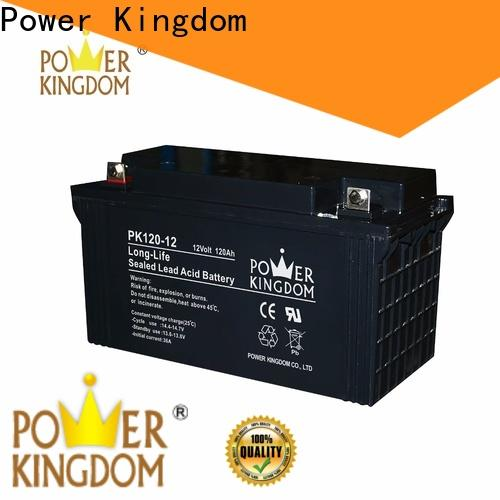Power Kingdom can you charge a agm battery with a regular charger factory solar and wind power system