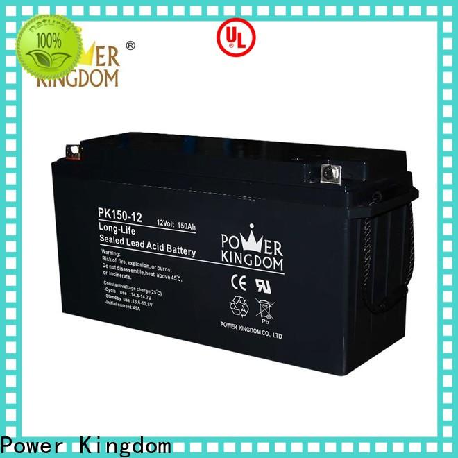 Power Kingdom agm batteries for solar directly sale Power tools