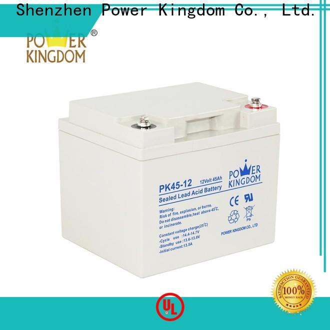 Power Kingdom no leakage design silica gel battery for business Automatic door system