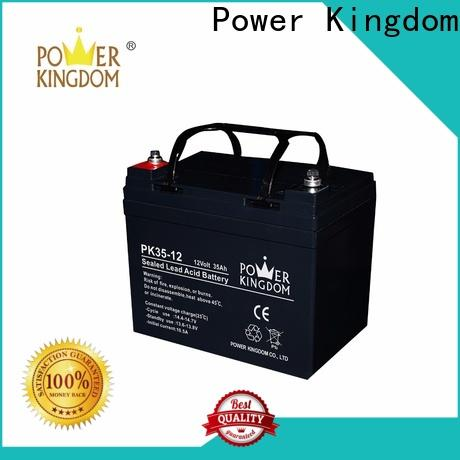 Power Kingdom advanced plate casters agm scooter battery inquire now solar and wind power system